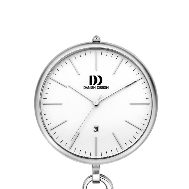 Danish Design Stalen Zakhorloge 47mm Datum Quartz