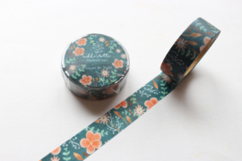 Washi tape - Flowers by Night