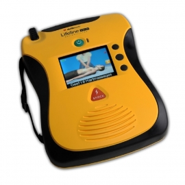AED Defibtech Lifeline inclusief ophangbeugel.