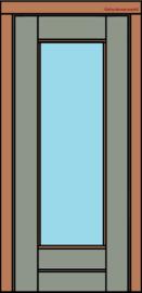 Deurkozijn met Stapeldeur 2