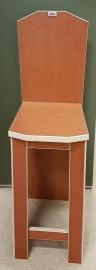 Plywood stoel gemaakt van  Light Brown betonplex ***Model 1