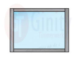 Spat-scherm t.b.v. leuning dubbele steigerhouten banken (Flame Resistant mogelijk)