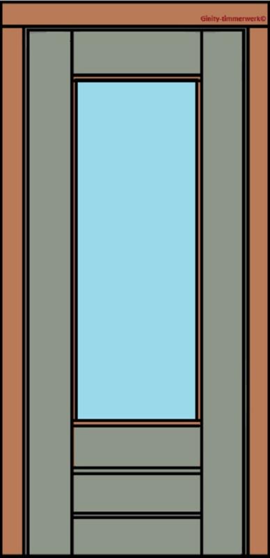 Deurkozijn  stapeldeur 3