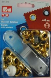 Nestelringen 8 mm. goud
