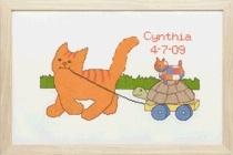 Telpakket Dikkie Dik  Geboorte met kar. Art.nr.272.001