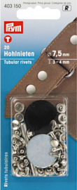 Hollow rivets 3-4mm