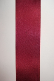 Satijn Lint  Bordeauxrood   3mm. Col.17