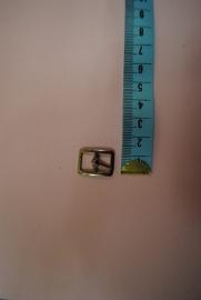 Gesp zilverkleurig 10mm.