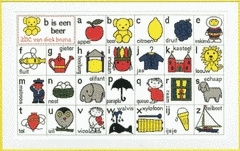 "Telpakket :Dick Bruna "" ABC"""