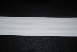 Pyama elastiek wit 35 mm.