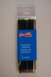 Dunkoord- elastiek  zwart