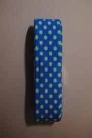 Biaisband  Blauw  20mm.