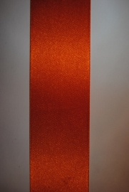 Satijn Lint  Oranje 3mm. col.42