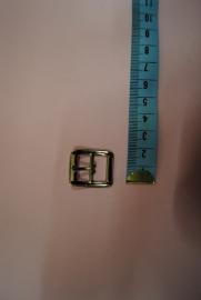 Gesp zilverkleurig 15mm.