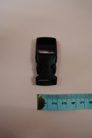 klikgesp  15mm zwart