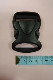 klikgesp  40mm zwart