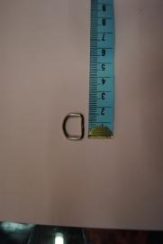 D-ring   15mm.
