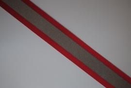 Reflectieband  rood