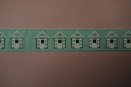 Huisjes lint (groen)