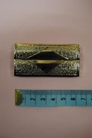 elastiek gespen zilverkleurig 60mm.