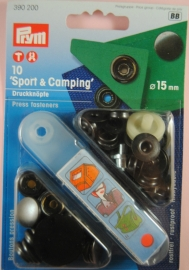 Prym Sport-Camping 15mm. gebronsd