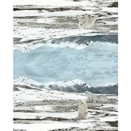 Tricotpaneel ijsbeer