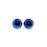 veiligheidsogen blauw 8mm