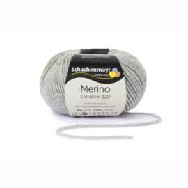 Merino extrafine 120 lichtgrijs 190