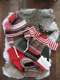 XXL kledingset Christmas Classic Girl