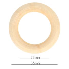 Houten bijtring 34mm