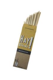 Biologisch afbreekbare longdrink rietjes - 100 pack