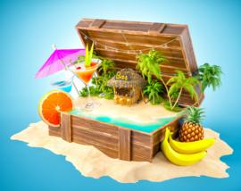 Tropical feest pakket