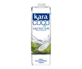 Kara kokos water 1000ML (10 stuks)