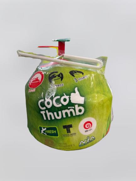 Jonge kokosnoten inclusief opener - 12 stuks