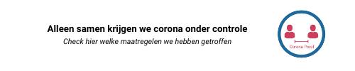 Alleen samen krijgen we corona onder controle