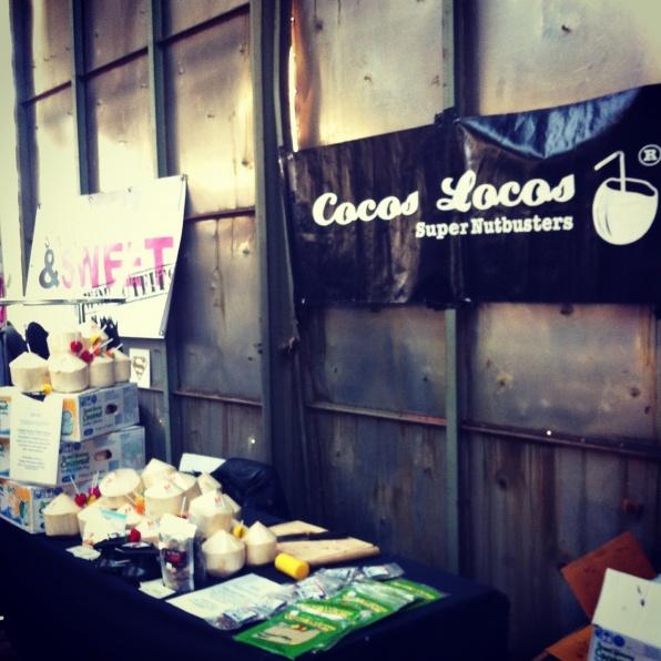 Jonge kokosnoten op Crossfit Evenement Antwerpen