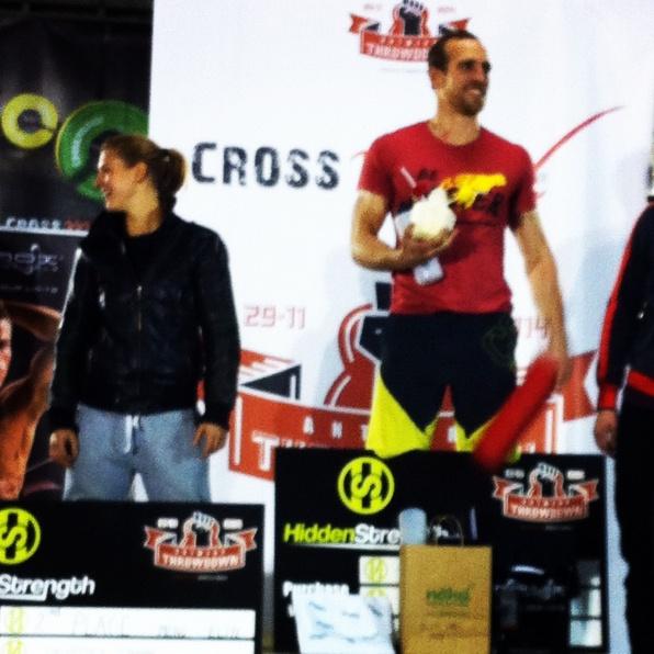 Winnaar Crossfit Antwerp Throwdown 2014