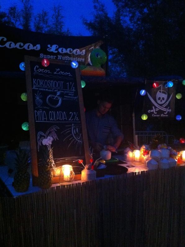 Festival de Zon kokosnoten