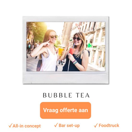 bubble tea bar of foodtruck huren