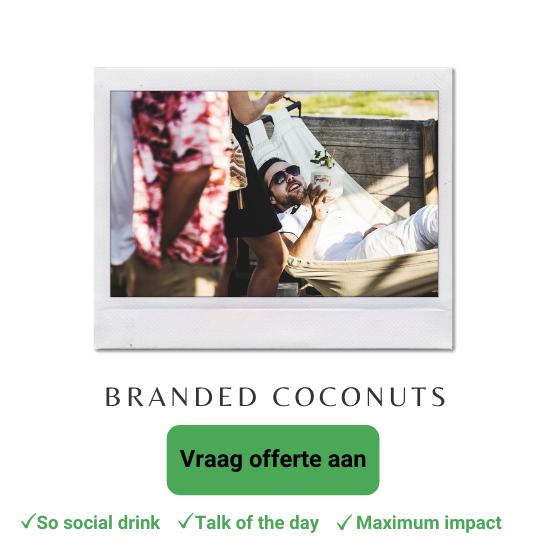 huur een foodtruck of mobiele bar met kokosnoten