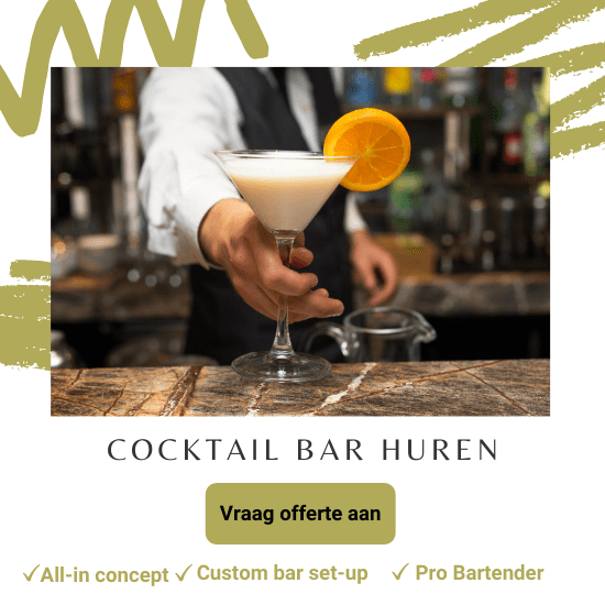 cocktailbar huren deal