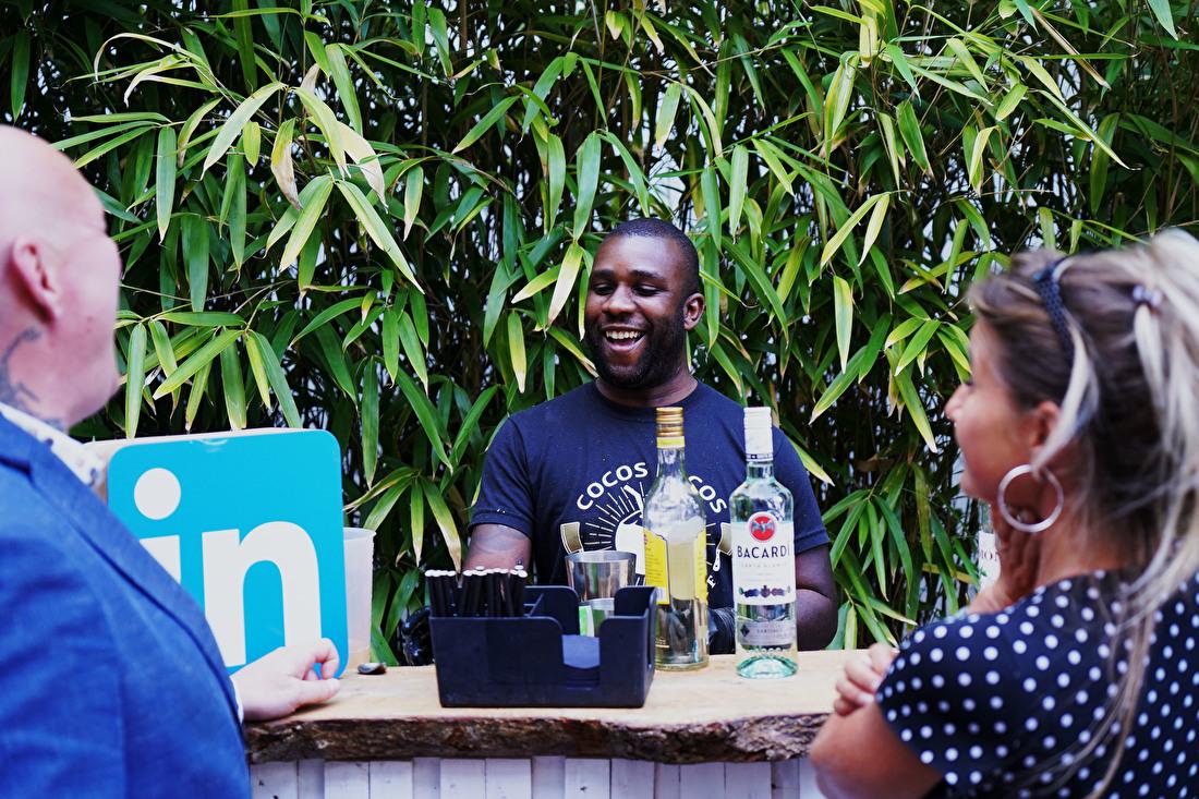 Representatieve bartenders