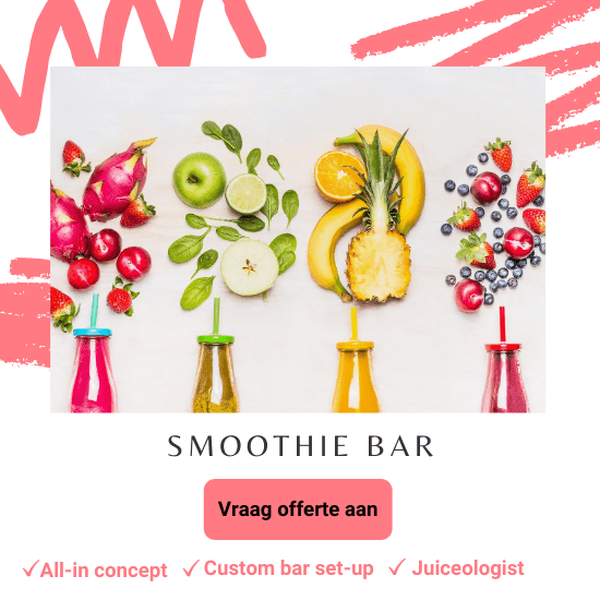 smoothie bar huren deal