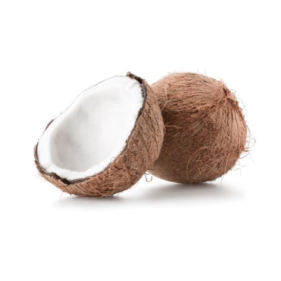 verschillende kokosnoten