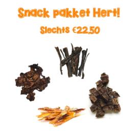 Snack pakket Hert