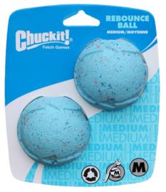 Chuck it rebounce bal 6,5cm 2stuks