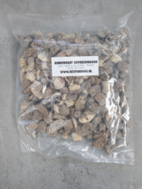 Runderhart gevriesdroogd zak 500gram