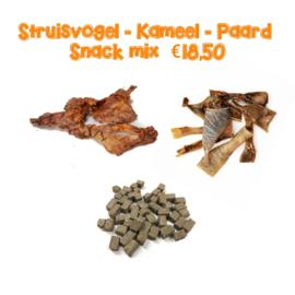 Struisvogel - Kameel - Paard mix