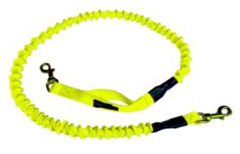 Bungee lijn neon geel 1.40 tot 2m