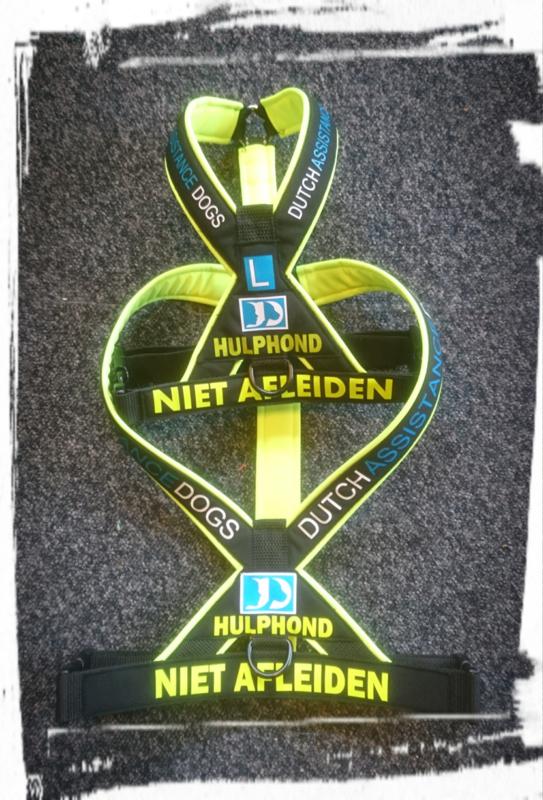 Dutch assistance dogs bijpassende riem 1.30